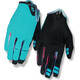 Giro La DND Bike Gloves Women black/turquoise